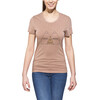 POLER Venn Tee Women brown heather
